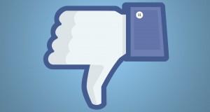 facebook não curti